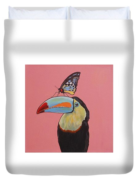Talula The Toucan Duvet Cover