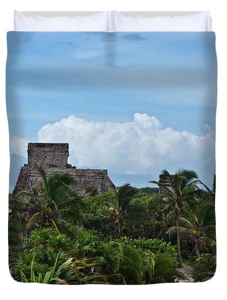 Talum Ruins 2 Duvet Cover