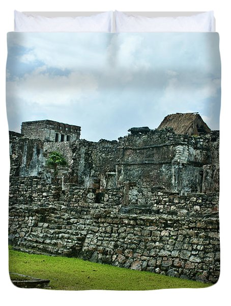 Talum Ruins 3 Duvet Cover