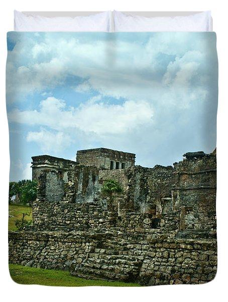 Talum Ruins 4 Duvet Cover