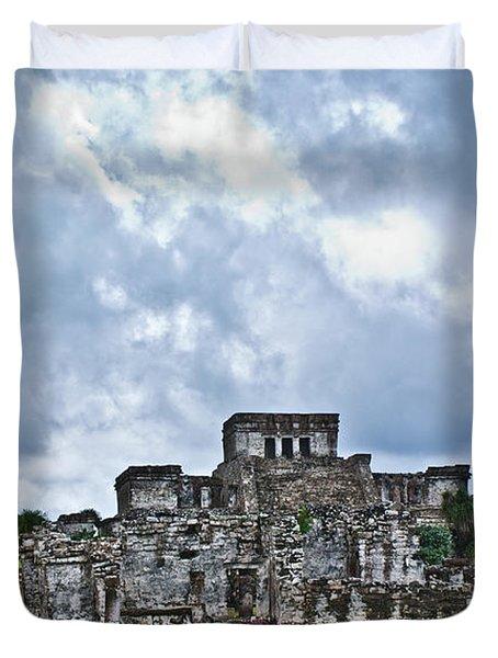Talum Ruins 8 Duvet Cover