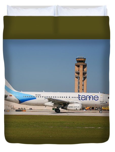 Tame Airline Duvet Cover