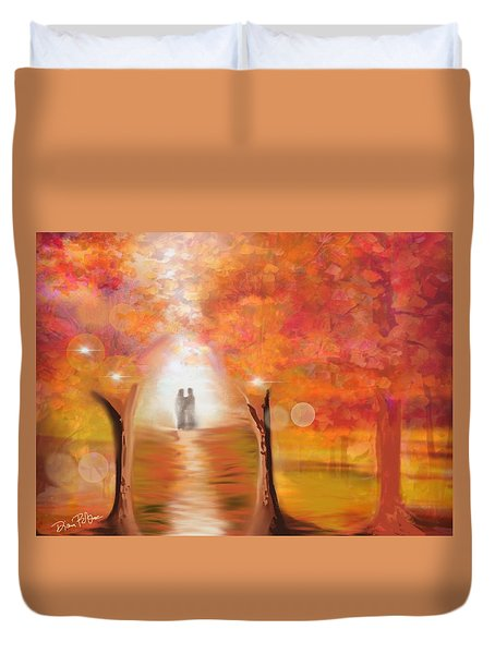 Tangerine Trees And Marmalade Skies #2 Duvet Cover