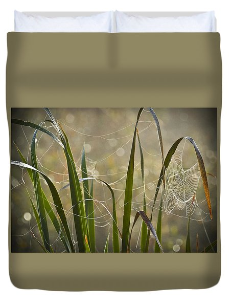 Tangled Highway Duvet Cover by Carolyn Marshall