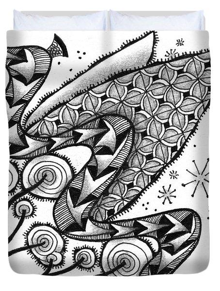 Tangled Serpent Duvet Cover