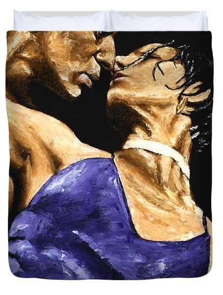 Tango Heat Duvet Cover