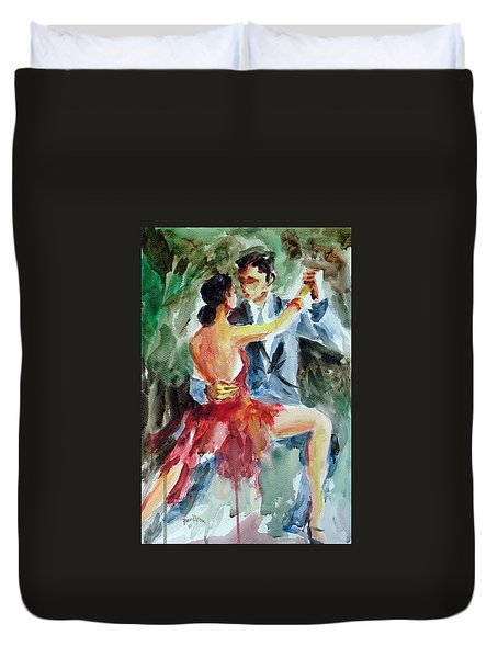Tango In The Night Duvet Cover