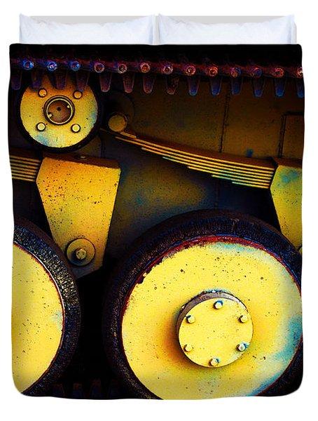 Tank Detail Duvet Cover