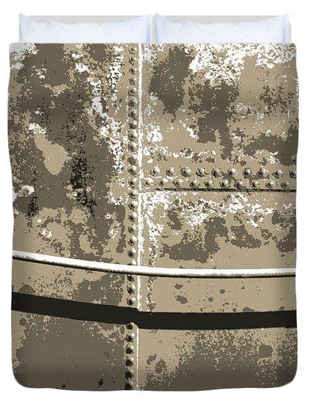 Tank Wall Duvet Cover