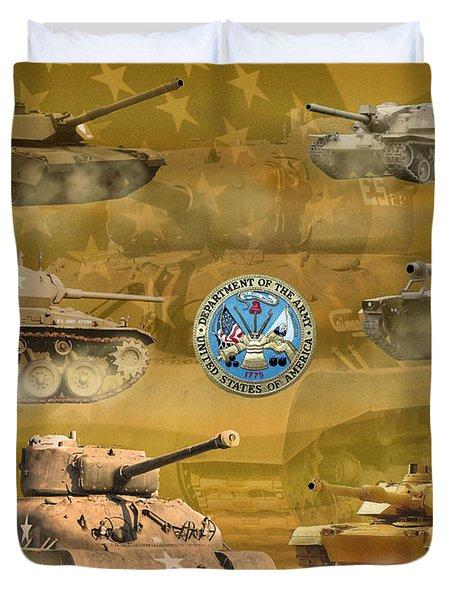 Tanks Four Duvet Cover