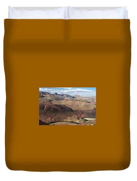 Tanner Rapids And The Colorado River Grand Canyon National Park Duvet Cover
