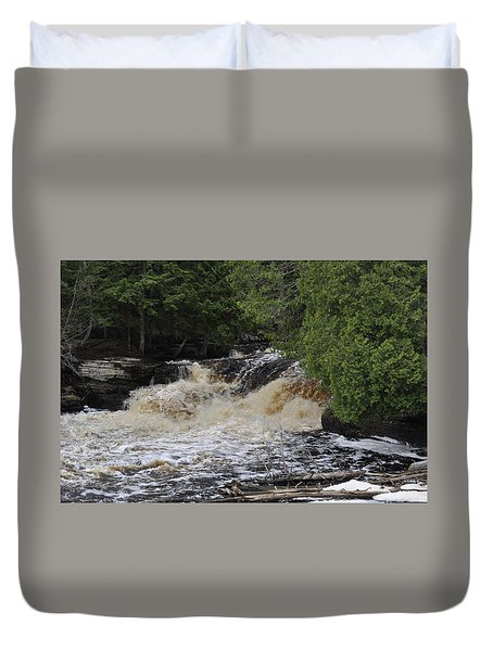 Tannic Waters Duvet Cover