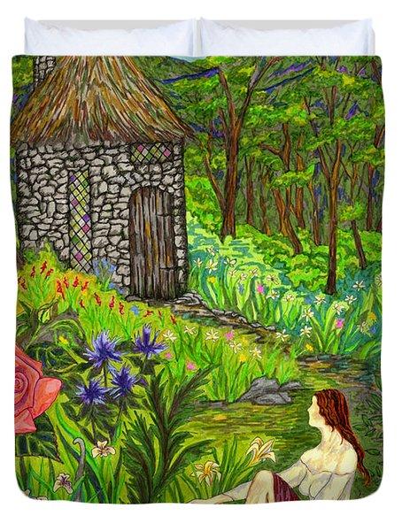 Tansel's Garden Duvet Cover