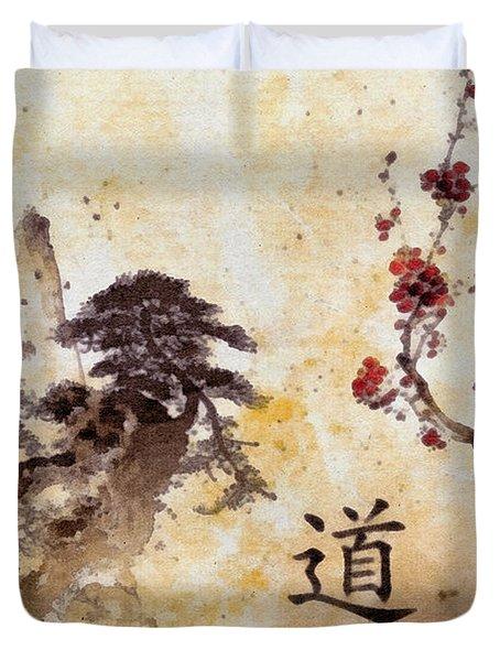 Tao Te Ching Duvet Cover