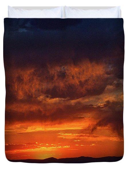 Taos Virga Sunset Duvet Cover