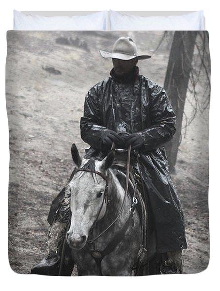 Tapadero Cowboy Duvet Cover