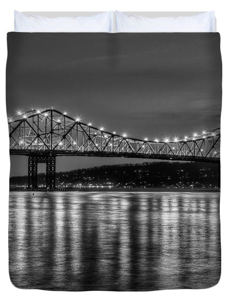 Tappan Zee Bridge Twilight IIi Duvet Cover