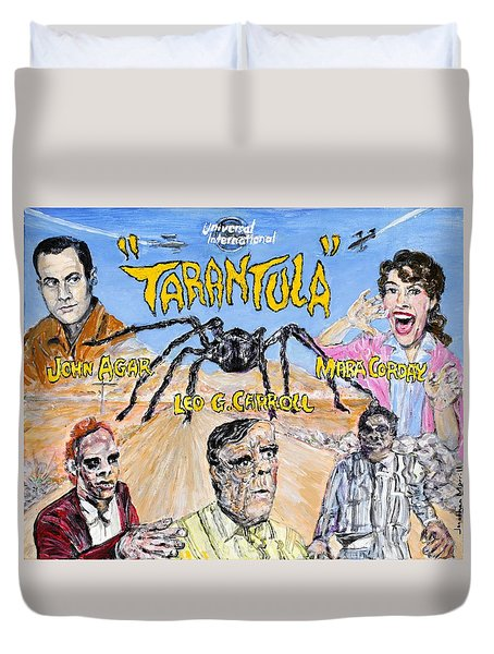 Tarantula - 1955 Lobby Card That Never Was Duvet Cover