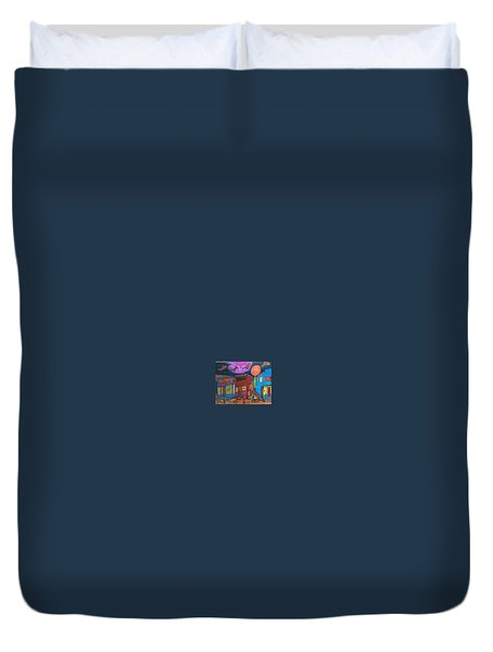 Garbell's Lunch And Confectionery Duvet Cover by Jonathon Hansen