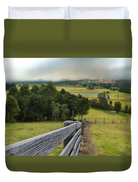 Taree West 01 Duvet Cover