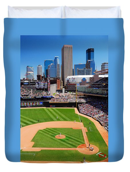 Target Field, Home Of The Twins Duvet Cover
