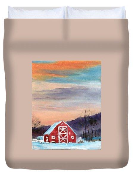 Target Range Barn Duvet Cover