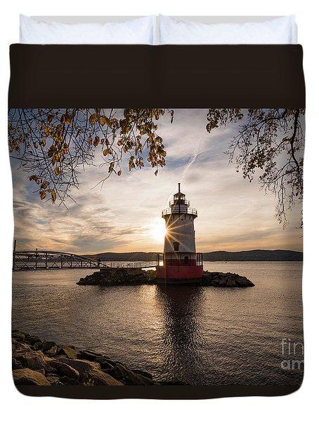 Tarrytown Lighthouse Duvet Cover