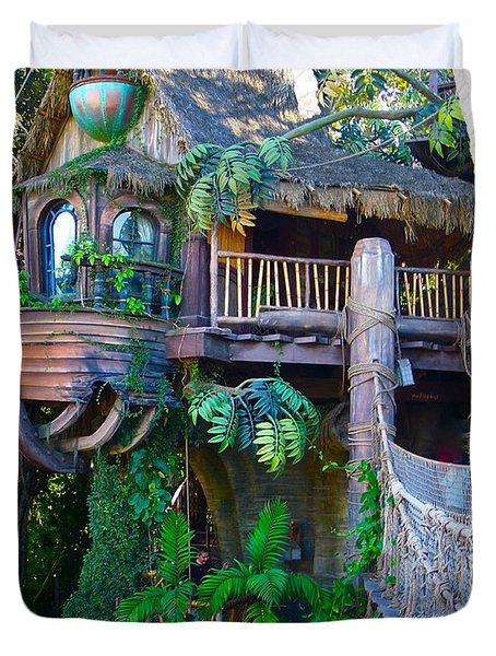 Tarzan Treehouse Duvet Cover