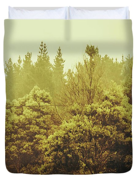 Tasmanian Grassland Details Duvet Cover