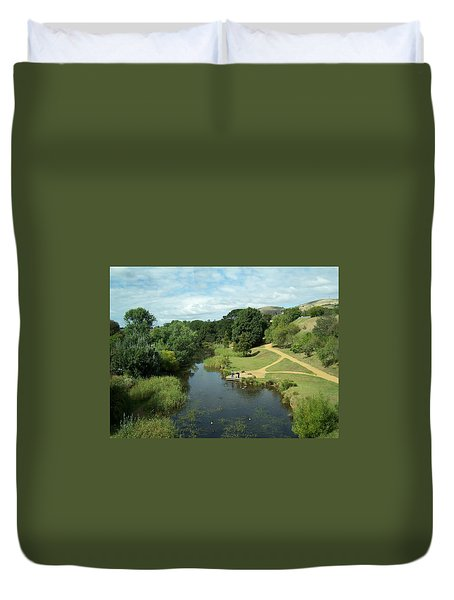 Tasmanian Landscape Duvet Cover