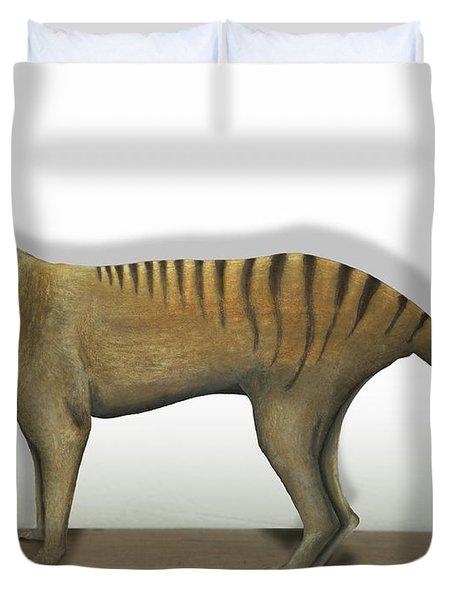 Tasmanian Tiger-thylacinus Cynocephalus-tasmanian Wolf-lobo De Tasmania-tasmanian Loup-beutelwolf    Duvet Cover