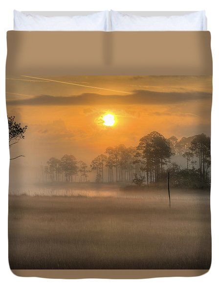 Tate's Hell State Forest Duvet Cover by JC Findley