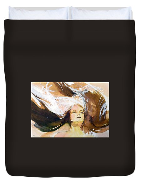 Tatiana Duvet Cover by Ed  Heaton