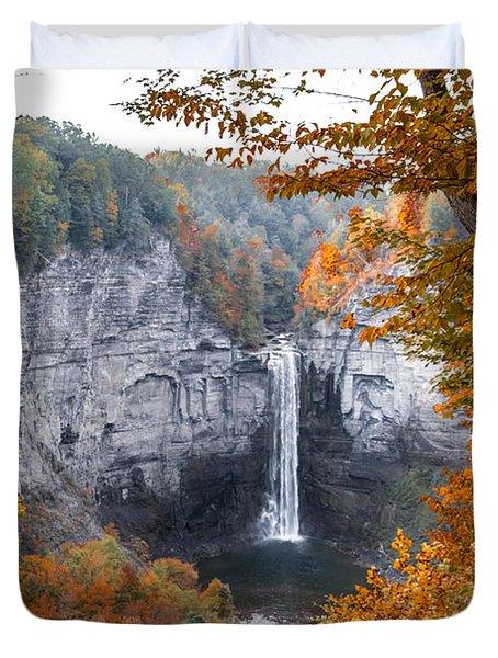 Taughannock Autumn Duvet Cover