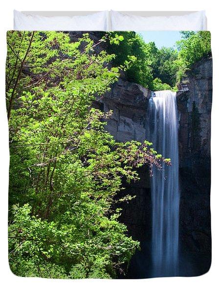 Taughannock Falls 0466 Duvet Cover