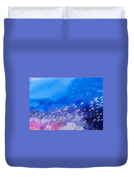Tavu Na  Siki Duvet Cover by Ed Heaton