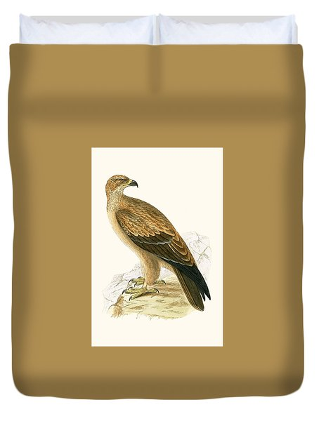 Tawny Eagle Duvet Cover by English School