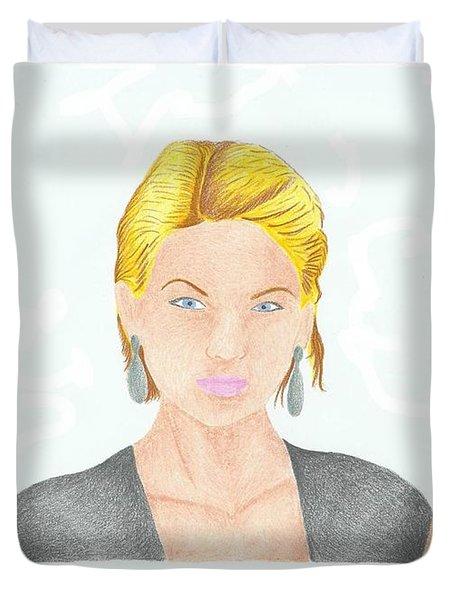 Taylor Swift Duvet Cover by Toni Jaso