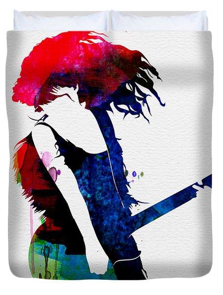 Taylor Watercolor Duvet Cover