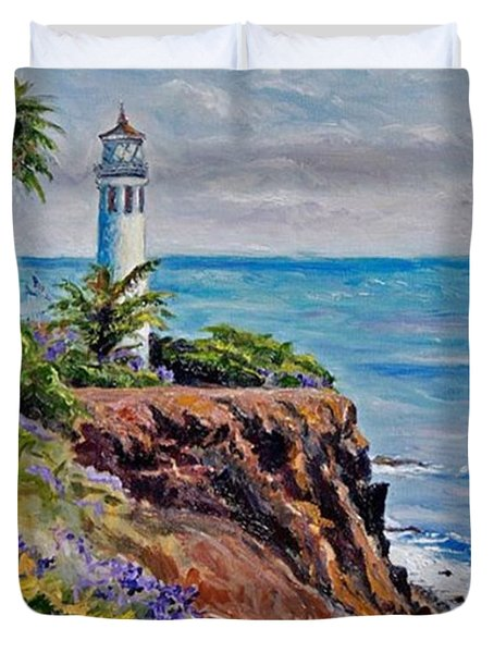 #tbt #artist#impressionism Duvet Cover by Jennifer Beaudet