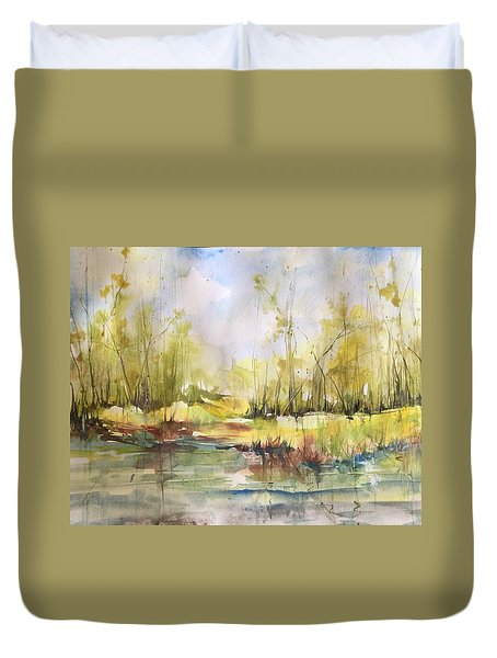 Tchefuncte River Series Duvet Cover
