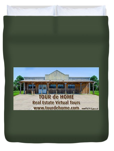 Tour De Home Ad Duvet Cover