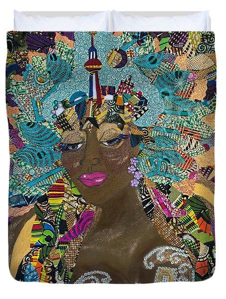 Tdot Caribana Duvet Cover by Apanaki Temitayo M