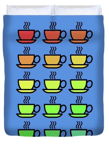 Tea Cups Duvet Cover