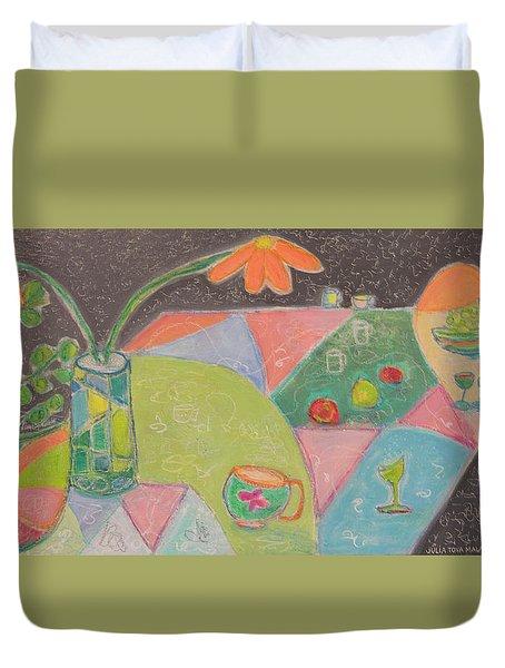 Tea For Two Duvet Cover