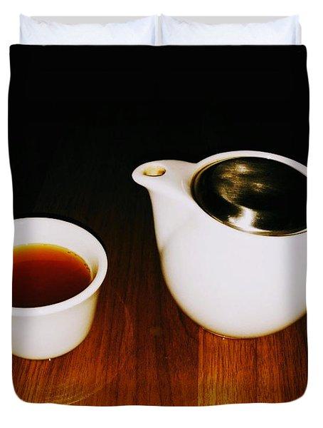 Tea-juana Duvet Cover