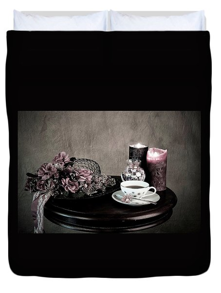 Tea Party Time Duvet Cover
