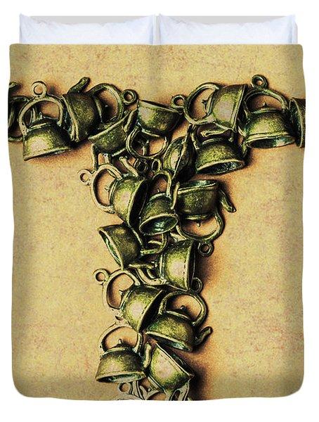 Tea Pot Art Duvet Cover