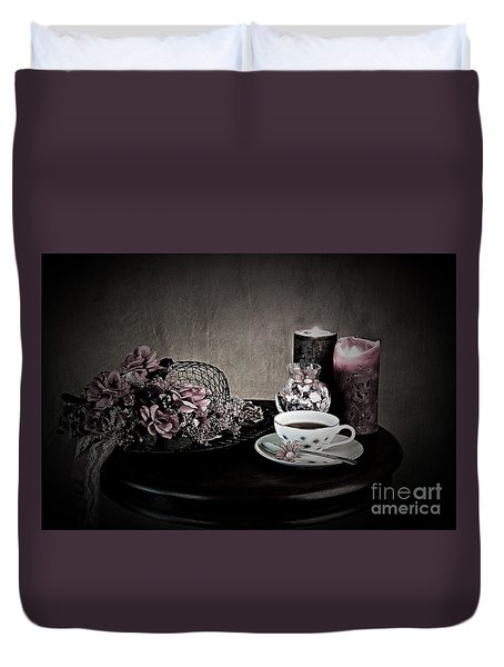 Tea Time 2nd Rendition Duvet Cover