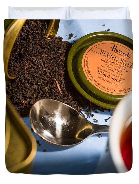 Tea Time Duvet Cover